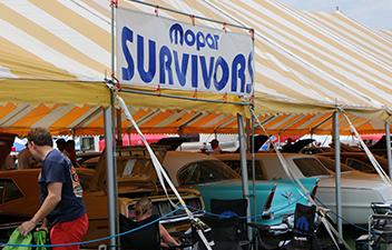Mopar Survivor Display