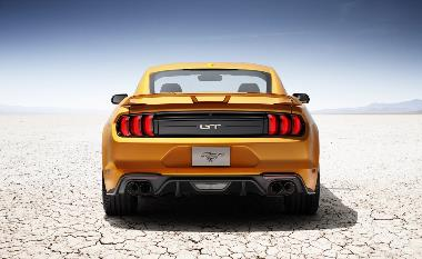 2020 Ford Mustang GT_rear